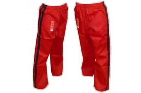 Bavlněné kalhoty Hayashi - červená červená 160 Pánské kalhoty
