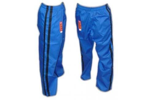 Bavlněné kalhoty Hayashi - modrá modrá 160 Pánské kalhoty