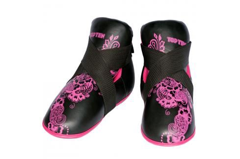 Chrániče nohou Top Ten Individuals - černá/růžová černá M/L Boxerské chrániče