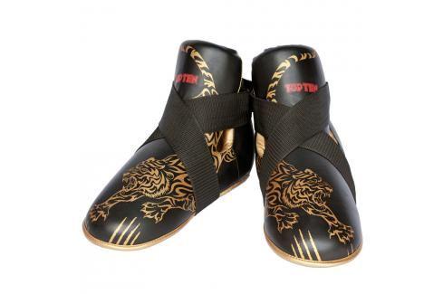 Chrániče nohou Top Ten Individuals - černá/zlatá černá M/L Boxerské chrániče