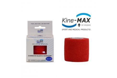 Kine-MAX Samofixační elastické obinadlo-5cm,7,5cm,10cm - červená červená 7,5cm Tejpy