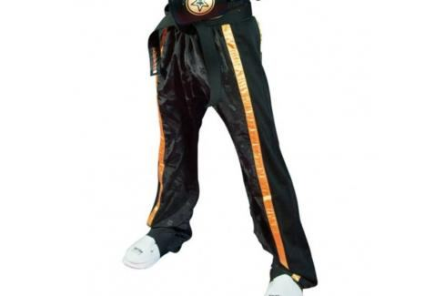 Kalhoty Top Ten Mesh - černá černá 190 Pánské kalhoty