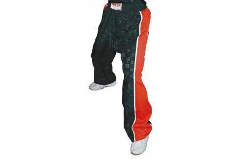 Kalhoty TopTen Mesh - černá černá 180 Pánské kalhoty