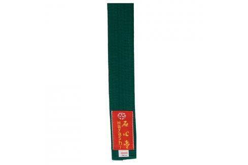 Pásek Hayashi - zelená zelená 260 Pásky ke kimonu