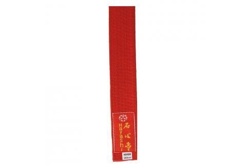 Pásek Hayashi - červená červená 300 Pásky ke kimonu