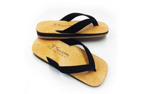 Zori - plastik 1 přírodní 2 Pánská obuv