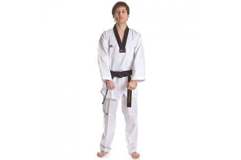 Dobok WTF Adichamp III černé V bílá 210 Taekwondo WTF