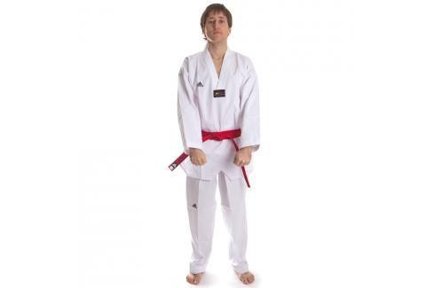 Dobok WTF Adichamp III bílé V bílá 140 Taekwondo WTF