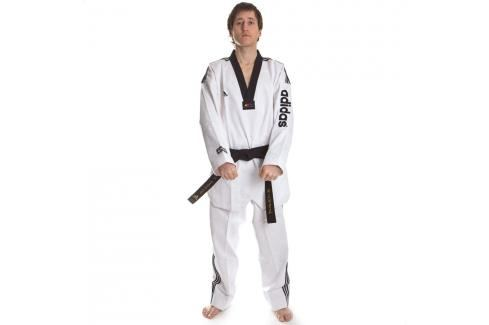 TKD dobok - SUPER MASTER - adidas bílá 210 Taekwondo WTF