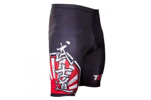 Top Ten MMA kompresní šortky SUNRISE černá S Pánské šortky