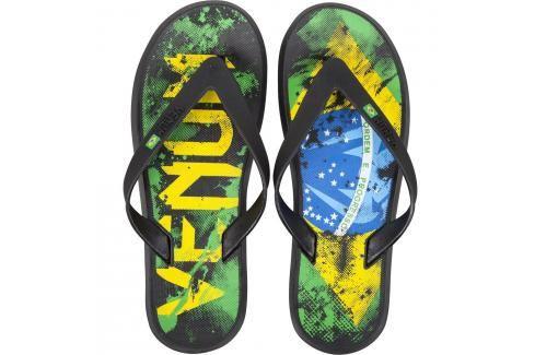 Venum žabky Brazillian Flag černá 39/40 Pánská obuv