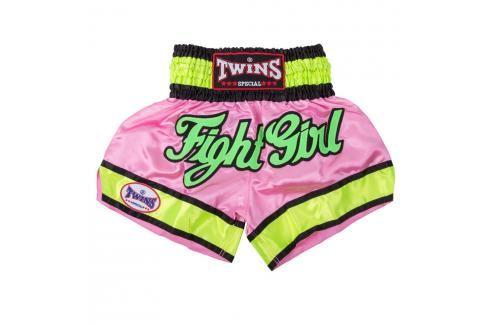 Thai trenky Twins - růžová růžová L Pánské šortky
