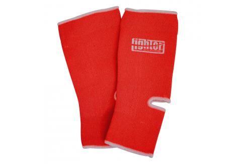 Bandáž kotníků Fighter - červená červená XL Boxerské chrániče