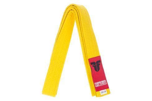 Pásek Fighter - žlutá žlutá 180 Pásky ke kimonu