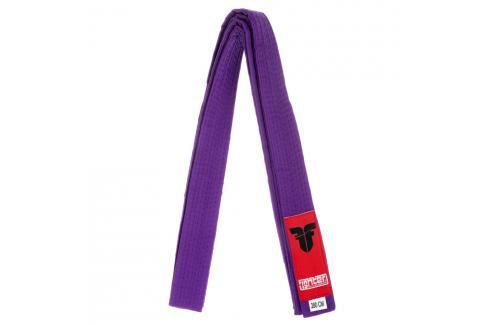 Pásek Fighter - fialová fialová 220 Pásky ke kimonu