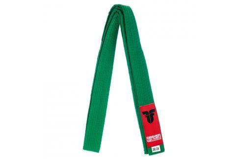 Pásek Fighter - zelená zelená 220 Pásky ke kimonu