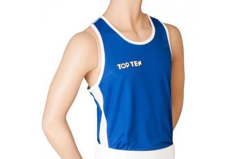 Top Ten boxerské tílko - modrá modrá L Pánská trička