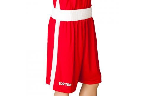 Top Ten boxerské trenky - červená červená L Pánské šortky