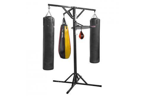 Boxerská tréninková stanice černá Stanice Pytle a hrušky