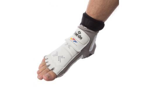 Elektronický chránič nohou se senzorem na patě GEN1 šedá S Boxerské chrániče