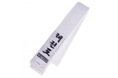 Fighter Taekwondo ITF pásek - bílá bílá 150 Pásky ke kimonu