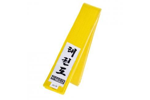 Fighter Taekwondo ITF pásek - žlutá žlutá 220 Pásky ke kimonu