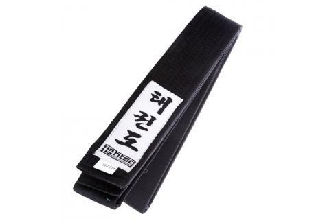 Fighter Taekwondo ITF pásek - černá černá 150 Pásky ke kimonu