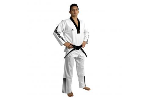 adidas TKD Dobok ADI-FLEX 3 bílá 160 Taekwondo WTF