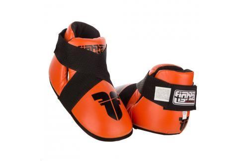 Chrániče nohou Fighter - oranžová oranžová M/L Boxerské chrániče