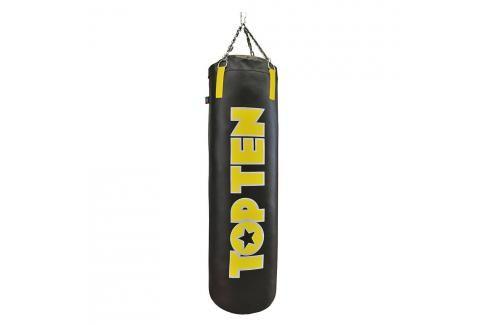 Boxovací pytel Top Ten 150 cm Velké Logo - černá/žlutá černá Pytle a hrušky