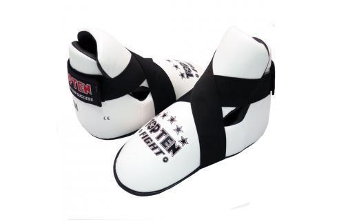 Chrániče nohou TOP TEN Fight - bílá bílá L Boxerské chrániče