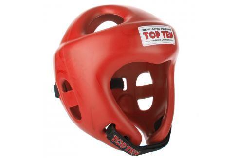 Přilba Top Ten Fight - červená červená L Boxerské helmy