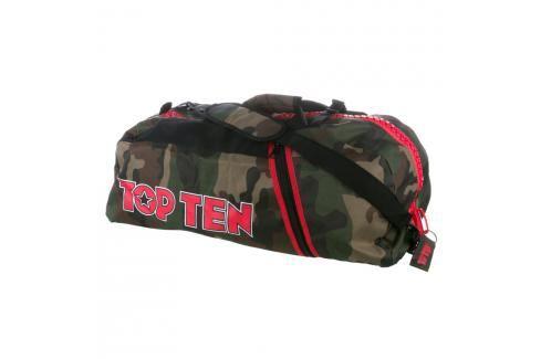 Sportovní taška Top Ten - maskáč maskáč M Batohy