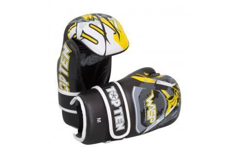 Otevřené rukavice TOP TEN Wasp černá S Boxerské rukavice