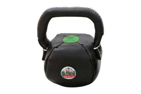 Suples LeatherBell - S 8kg černá Činky