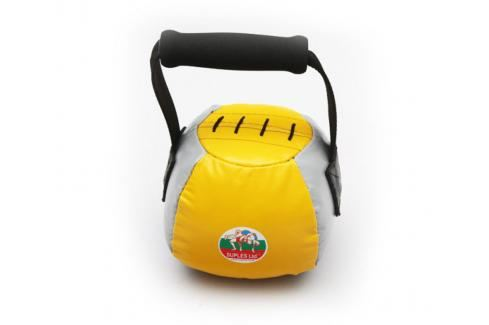 Suples Fit® bell 4kg žlutá Činky