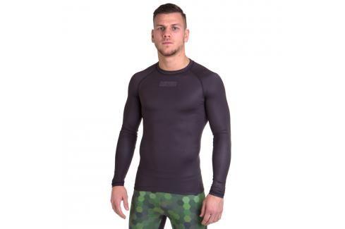 Rashguard Fighter - černá černá S Pánská trička
