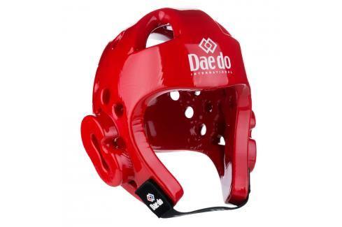 Přilba Daedo WTF - červená červená L Boxerské helmy