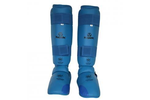 Chrániče holení a nártů Hayashi WKF - modrá modrá M Boxerské chrániče