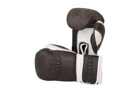 Boxerské Rukavice Top Ten Vintage hnědá 12 Boxerské rukavice