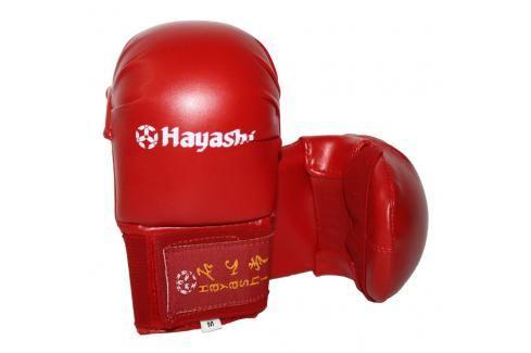Trénikové chrániče rukou karate - Tsuki - červená červená L Boxerské rukavice