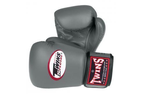 Boxerské rukavice Twins - šedá šedá 10 Boxerské rukavice
