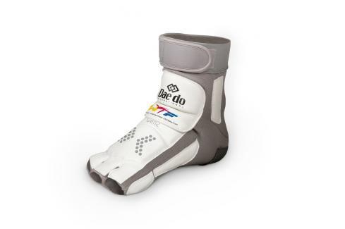 Elektronický chránič nohou DAEDO GEN2 bílá XL Boxerské chrániče