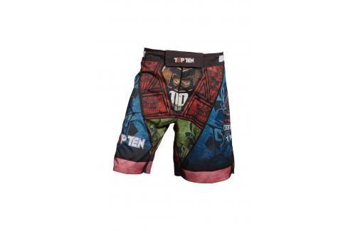 Top Ten MMA trenky Samurai - černá/modrá/červená černá S Pánské šortky