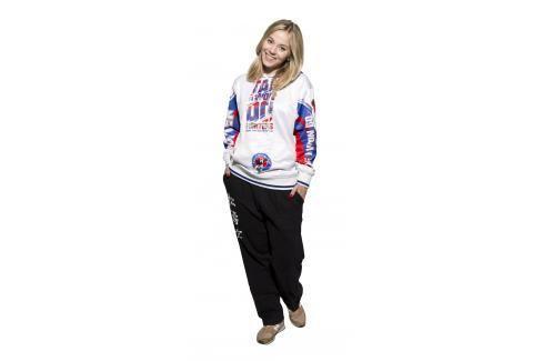 Mikina s kapucí Taekwondo ITF bílá L Pánské mikiny