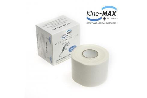 Kine-MAX Tejpovací páska neelastická 5 cm x 10 m bílá 5cm x 10m Boxerské bandáže