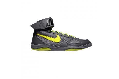 Boty Nike Takedown - šedá/neon.zelená šedá 9 Pánská obuv