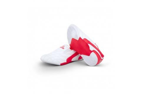 Dětské Budo Boty Daedo KICK - bílá/červená bílá 26 Pánská obuv