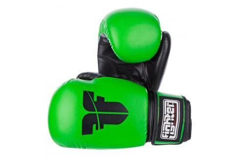 Rukavice Fighter Basic - neon. zelená neon. zelená 12 Boxerské rukavice