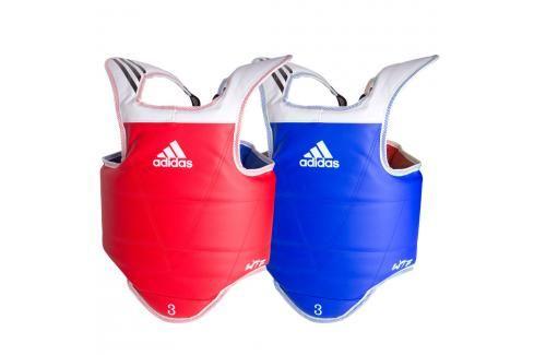 Oboustranná vesta adidas WTF - červená/modrá červená 1 Boxerské chrániče